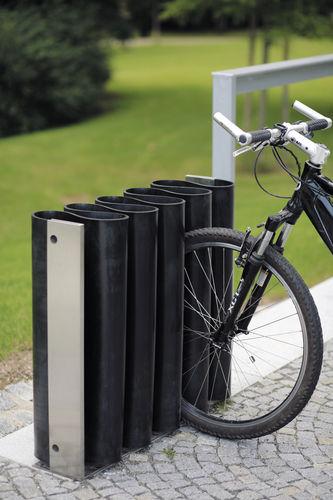 亜鉛めっき鋼製自転車ラック / ステンレススチール製 / ゴム製 / オリジナルデザイン