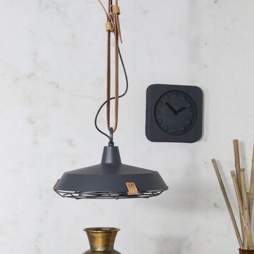 吊り下げライト / コンテンポラリー / 金属製 / レザー