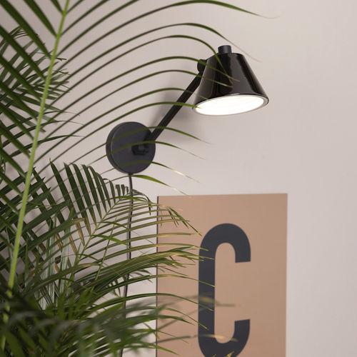 コンテンポラリー壁面ライト / 鉄製 / LED / 円形