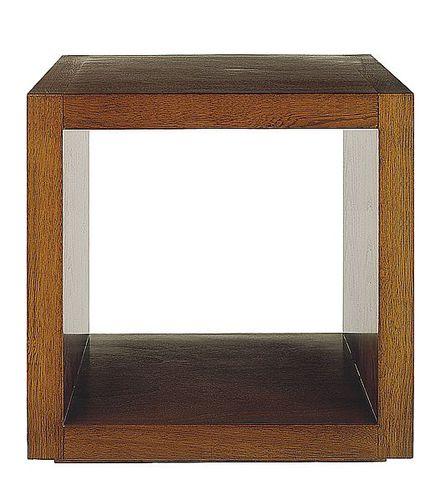 コンテンポラリーサイドテーブル / クルミ材 / ブナ材製 / 長方形