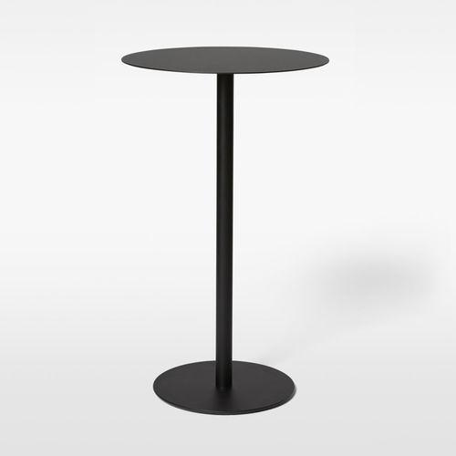 コンテンポラリーバーテーブル / 金属製 / ラミネート状 / 大理石製