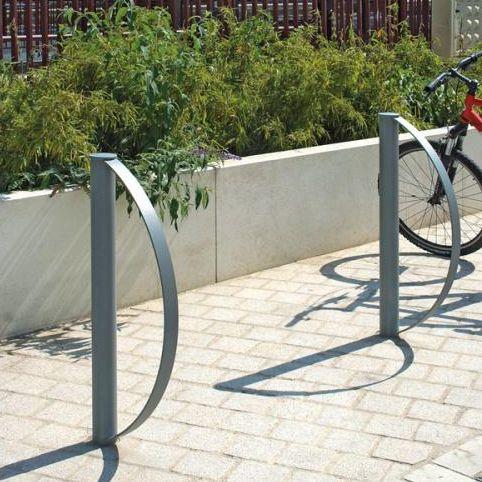 スチール製自転車ラック / セキュリティ / 公共スペース用