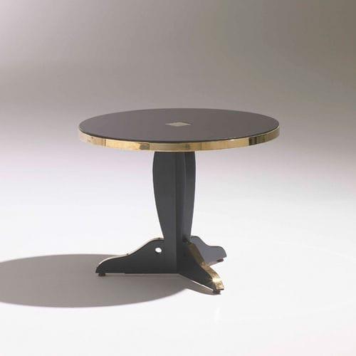 コンテンポラリー補助テーブル / ブナ材製 / 円形 / 四角形