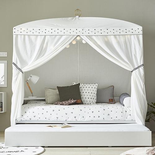 白子供部屋 / グレー / 漆木材 / 女の子用