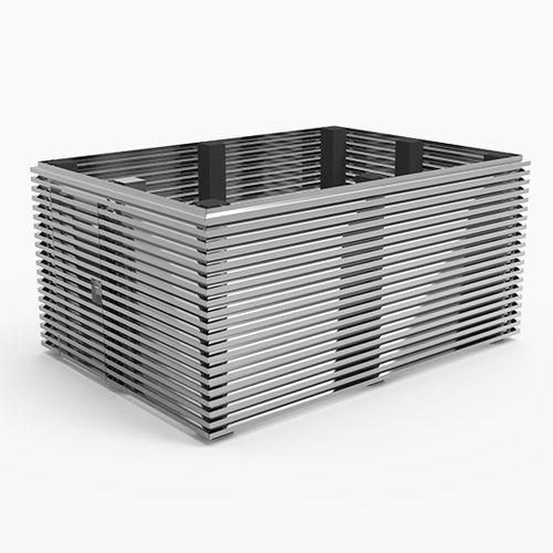 薄板製クラッディング / アルミ製 / 自然 / 木材風