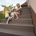 複合木材製ステップカバーリング