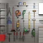 壁掛け式収納システム / コンテンポラリー / アルミ製 / 自動車修理工場