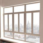 開き窓 / 傾動または旋回 / 木製 / アルミ製