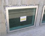 固定窓 / ステンレススチール製 / 三重 / 防水