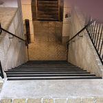 アルミ製階段用段鼻部材 / ポリマー製 / 滑り防止