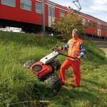 手押し型芝刈り機 / 傾斜地