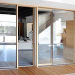 スライド式フランスドア / 木製 / 二重