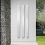 電気ヒ-タ- / アルミ製 / コンテンポラリー / 壁掛け式