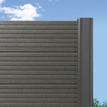庭用フェンス / ルーバー式 / 複合木材製 / 高安全性