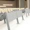 コンテンポラリー講堂チェア / 折畳み / 布張り / 布製