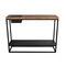 コンテンポラリーサイドボードテーブル / オーク材 / 漆木材 / ソリッド ウッド製
