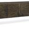 コンテンポラリーサイドボード / 木製プレート製 / 金属製 / ラック付