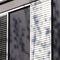 PVC日射遮蔽 / 建物の正面用 / 縦型 / 方向調節可能