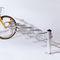 亜鉛めっき鋼製自転車ラック / 鋳造アルミニウム製 / 公共スペース用