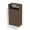 公共ゴミ箱 / 壁掛け式 / 亜鉛めっき鋼製 / 木製