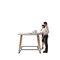 コンテンポラリーバーテーブル / 木製 / 長方形 / 業務用