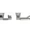 コンテンポラリーソファー / ガーデン用 / アルミ製 / 合成繊維