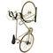 壁取り付け式自転車ラック / スチール製 / 亜鉛めっき鋼製 / 公共スペース用