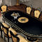 クラシック食卓テーブル / 木製 / 楕円形 / エクステンション