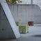 コンテンポラリースツール / 鋼板 / 公共スペース用 / ホテル用
