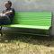 公共ベンチ / ガーデン用 / コンテンポラリー / スチール製