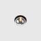 コンテンポラリーシーリングライト / 円形 / 吹きガラス製 / 陽極酸化アルミ製