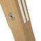 コンテンポラリーテ-ブル / 漆木材 / オーク材 / ソリッド ウッド製