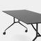 コンテンポラリー会議用テーブル / ラミネート状 / メラミン製 / 金属製