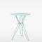 コンテンポラリーバーテーブル / オーク材 / 亜鉛めっき鋼製 / 金属ワイヤー製