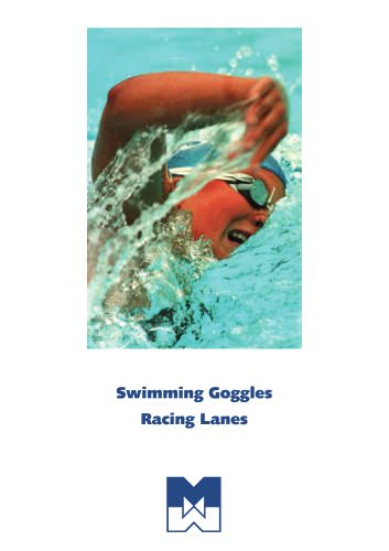 Swimming goggles & Racing Lanes
