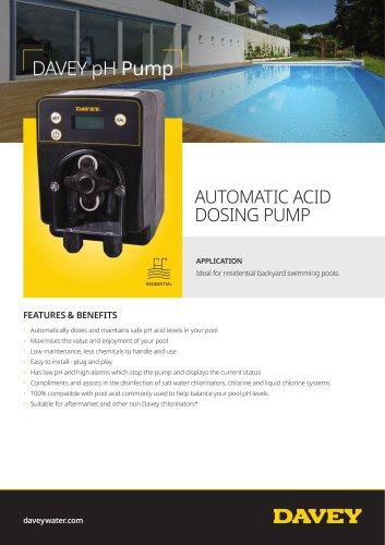 DAVEY pH Pump