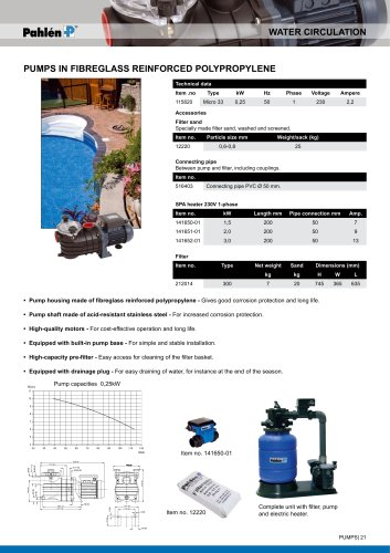 Pump micro 33