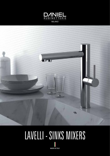 LAVELLI - SINKS MIXERS