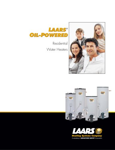 Center and Rear Flue Oil-Powered Water Heater Brochure