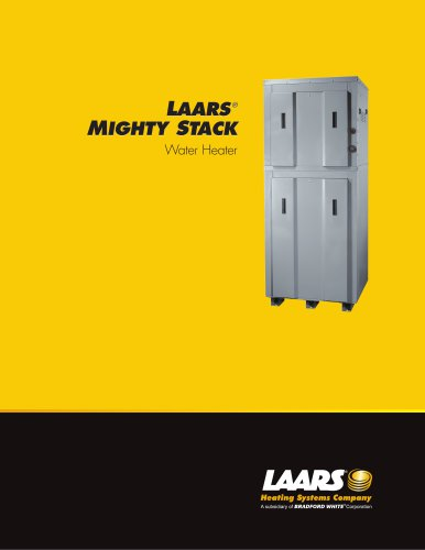 Mighty Stack 199, 300 and 399 Water Heater