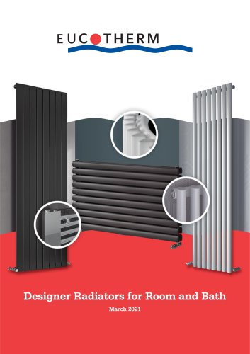Designer Radiators for Room and Bath