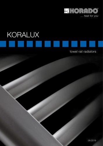 KORALUX towel rail radiators