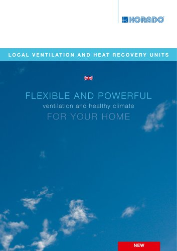 Local ventilation and heat recovery units