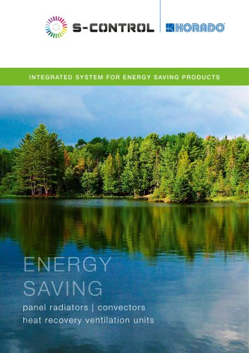 S-control - integrated system for energy saving products