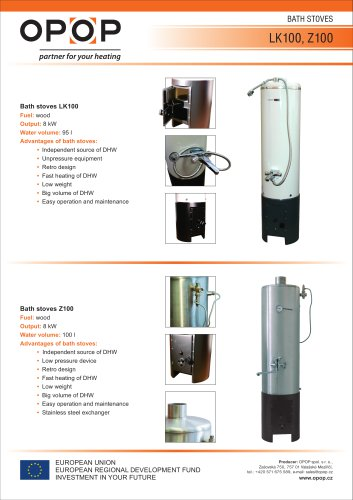 Bath stoves Z100
