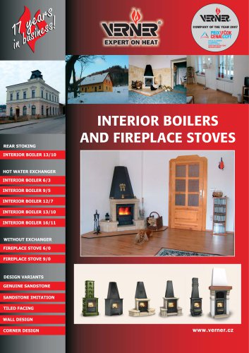 Interior boilers and fireplaces stoves