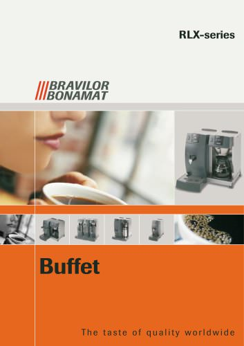Buffet coffee machines