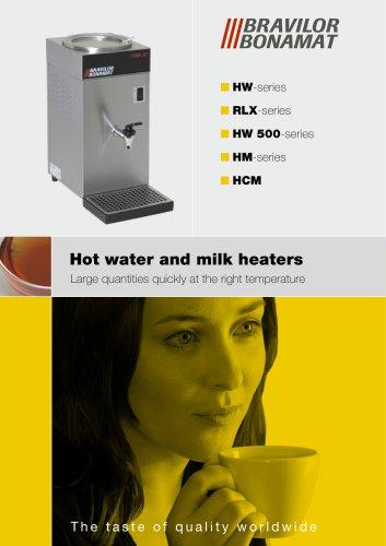 Hot water & Milk Heaters