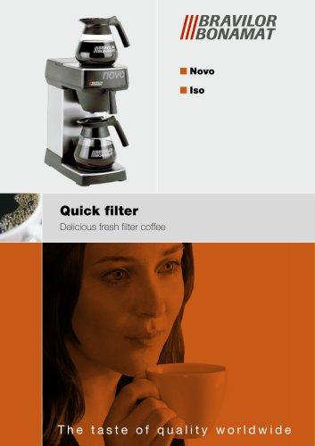 Novo/Iso coffee machine