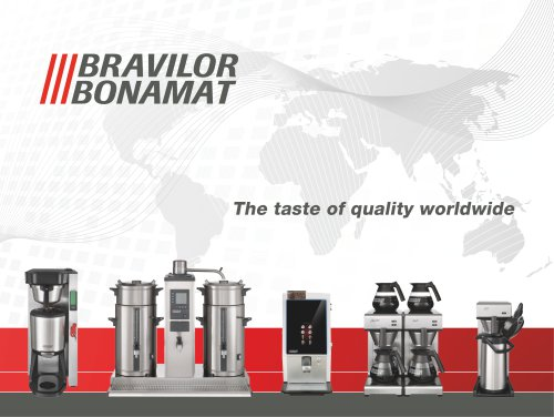 The taste of quality worldwide